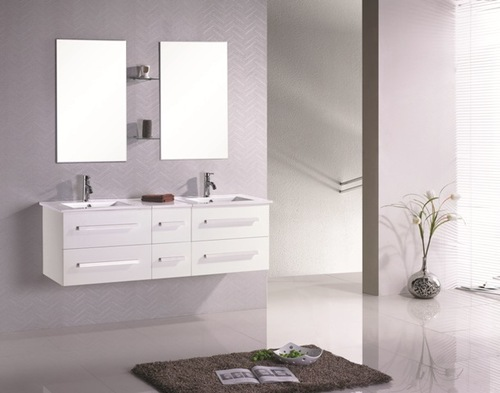 d double vasque 150 cm 569 eu meubles de salle de bain. Black Bedroom Furniture Sets. Home Design Ideas